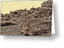 For Ever Watch At Devils Den Greeting Card by Tommy Anderson