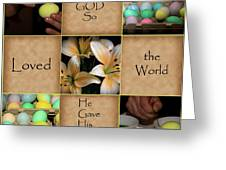For God So... Greeting Card