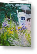 For Sale - A Patch Of Paradise Greeting Card