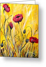 For The Love Of Poppies Greeting Card