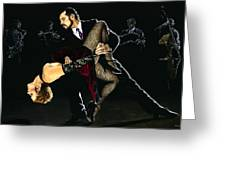 For The Love Of Tango Greeting Card