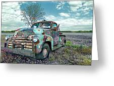 For Whom The Truck Tows Greeting Card