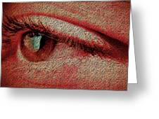 For Your Eyes Only Greeting Card