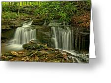 Forbes State Forest Twin Falls Greeting Card
