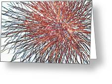 Force Field Variation 2 Greeting Card
