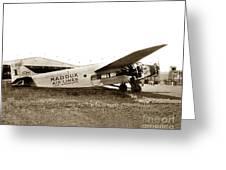 Ford 4-at-a Maddux Air Lines Los Angeles Circa 1928 Greeting Card