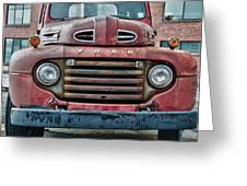 Ford 4623 Greeting Card