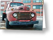 Ford 4625 Greeting Card
