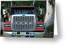 Ford 9000 Power And Confort... Greeting Card