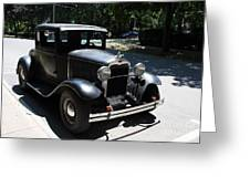 Ford A 1931 Greeting Card