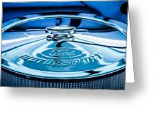 Ford Air Filter Lid Greeting Card
