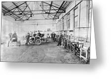 Ford Auto Factory Greeting Card