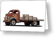 Ford Classic 7 Up Truck Greeting Card
