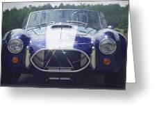 Ford Cobra Greeting Card