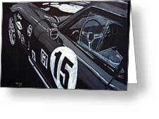 Ford Cobra Racing Coupe Greeting Card