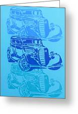 Ford Coupe 34 Greeting Card