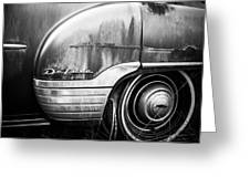 Ford Deluxe Fender Black And White Greeting Card