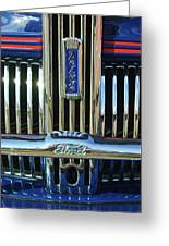 Ford Deluxe Grille Greeting Card