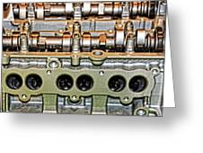 Ford Ecoboost Cylinder Head Greeting Card