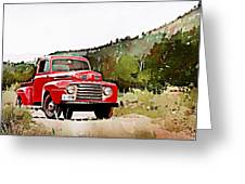 Ford F-1 Greeting Card