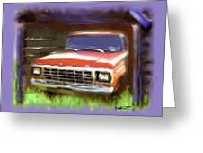 Ford F150 Greeting Card