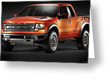 Ford F150 Svt Raptor Greeting Card