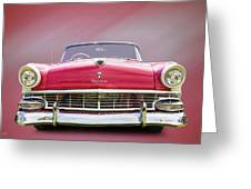 Ford Fairlane Greeting Card