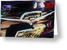 Ford Fairlane Greeting Card
