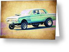 Ford Falcon Gasser Greeting Card