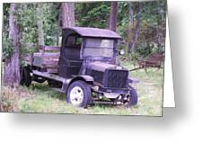 Ford Flatbed Greeting Card