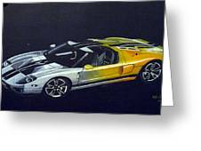 Ford Gt Concept Greeting Card