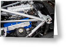 Ford Gt40 Engine Greeting Card