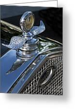 Ford Hood Emblem Greeting Card