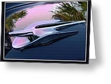 Ford Hood Ornament 56 Greeting Card