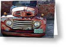 Ford In Goodland Greeting Card