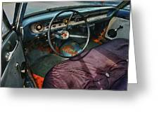 Ford Interior Greeting Card