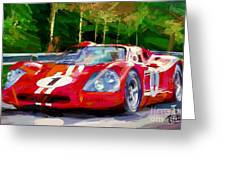 Ford Mark Four Greeting Card