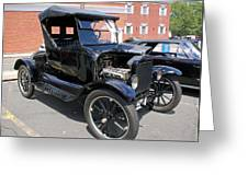 Ford Model T1 Greeting Card