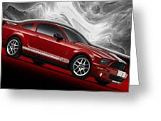 Ford Mustang Gt 500 3 Greeting Card