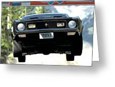 Ford Mustang Mach 1 Greeting Card