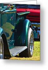 Ford Pickup Fender Greeting Card