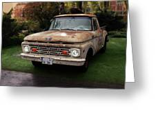 Ford Pickup, Ford 1964 Greeting Card