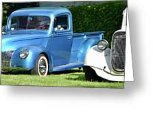 Ford Pickups Greeting Card