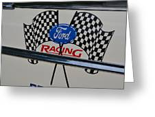 Ford Racing Emblem Greeting Card