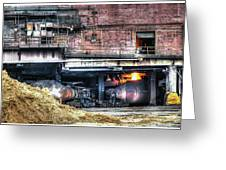 Ford Rouge Plant Steelmill Greeting Card