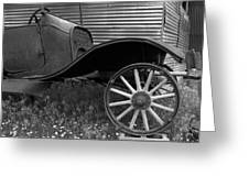 Ford T Greeting Card