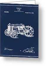 Ford Tractor Patent 1919 Greeting Card