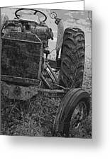 Ford Tractor Greeting Card