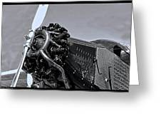 Ford Tri-motor 3 Greeting Card