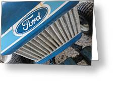 Ford Tuff Greeting Card